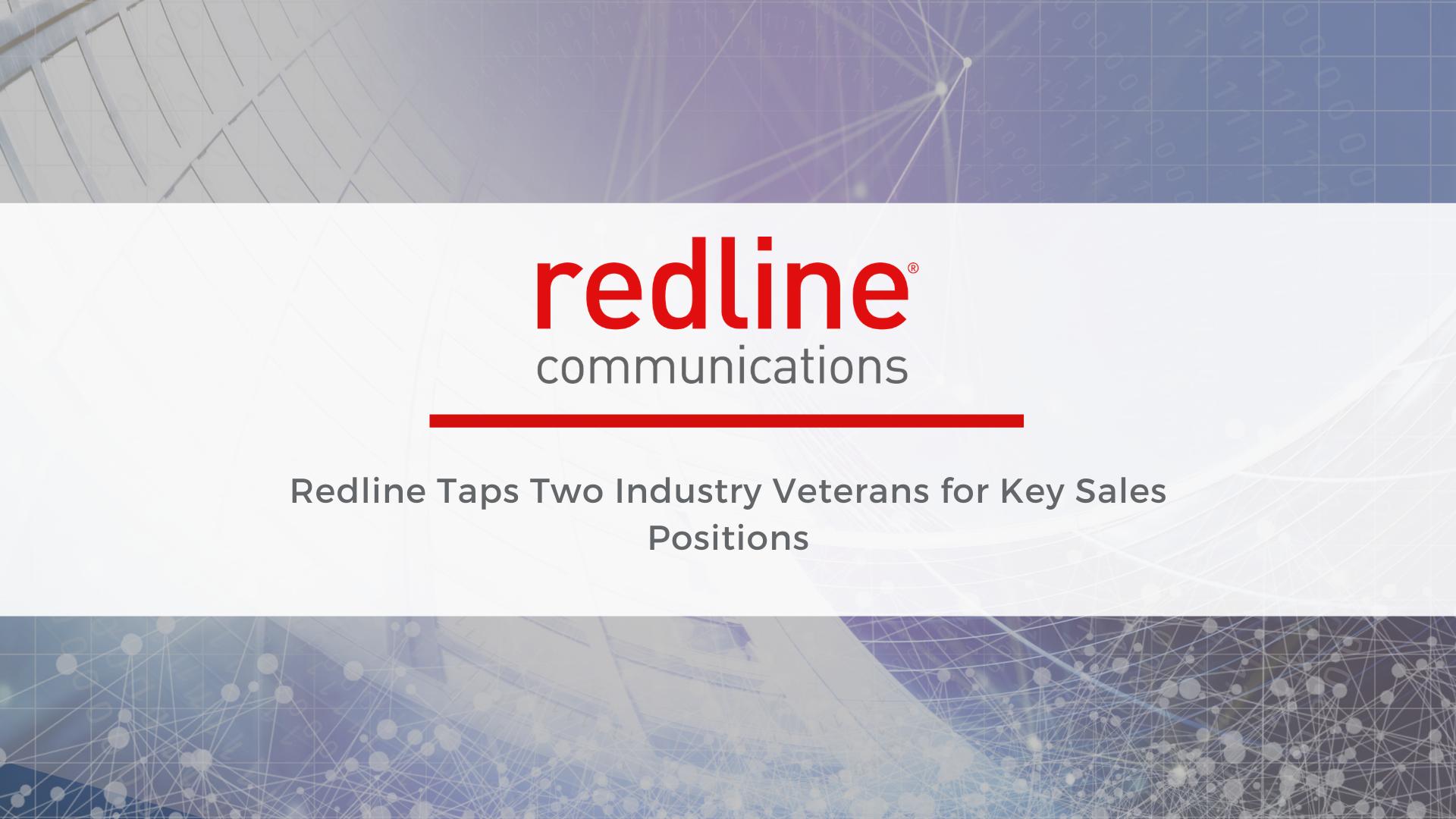Redline Hires Sales