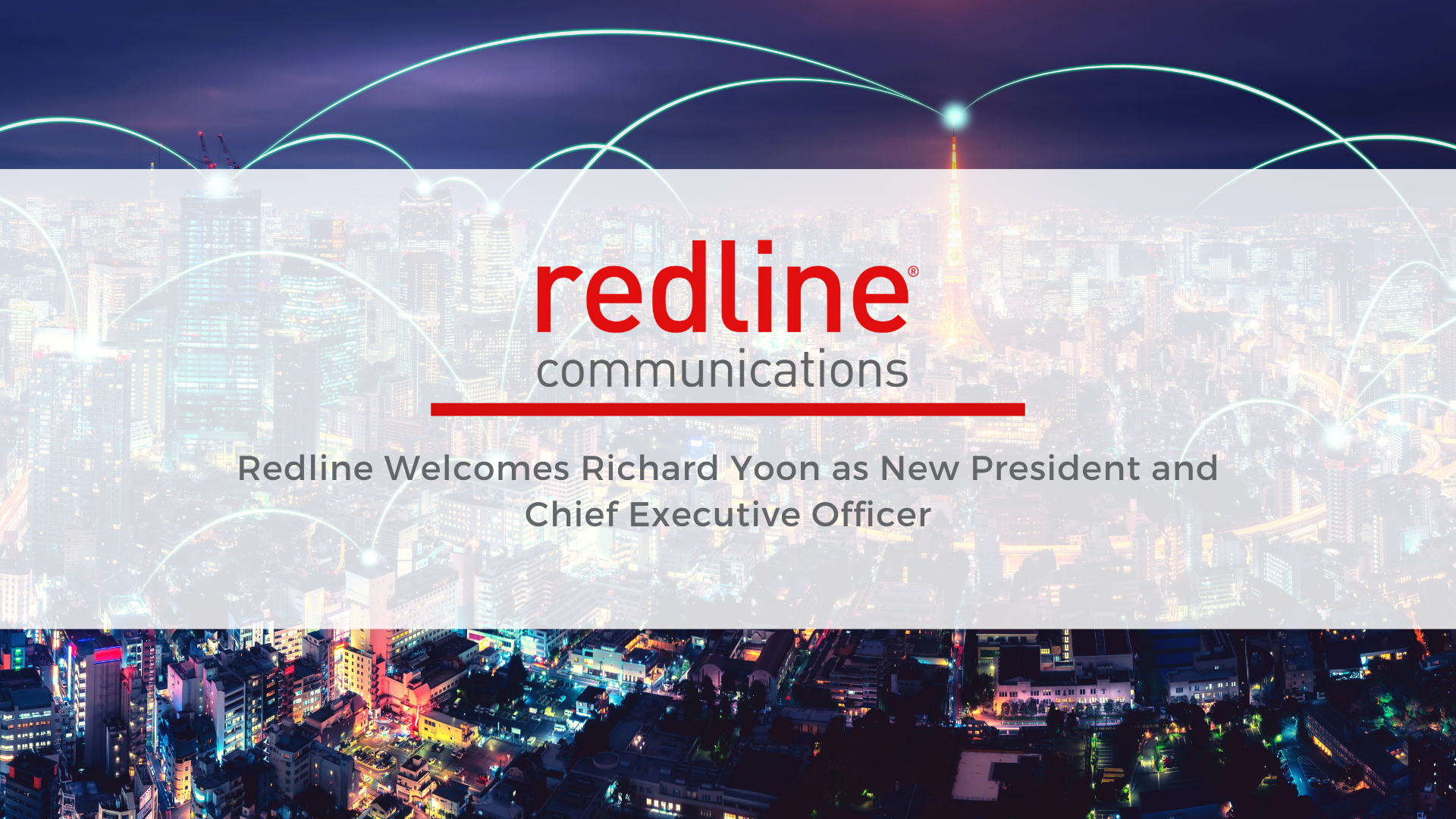 Redline Welcomes Richard Yoon as New President and Chief Executive Officer